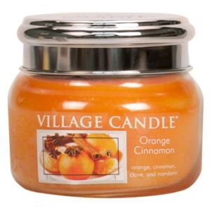 VILLAGE CANDLE - Pomaranč a škorica – Orange Cinnamon 45-55