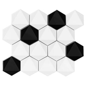 DUNIN - HEXAGONIC B&W MIX 74 (30 x 26cm/1ks)