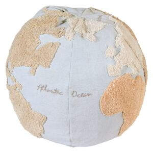 LC Puf na sedenie World Map