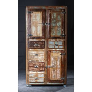 SIT MÖBEL Skriňa FRIDGE – 90 × 40 × 190 cm
