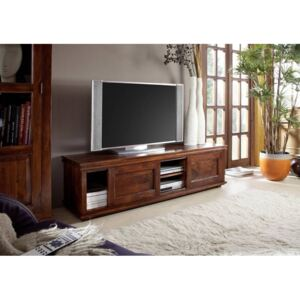 CAMBRIDGE TV stolík 160x45 cm, akácia