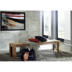 LIGHT WOOD Lavica 160x35 cm, palisander