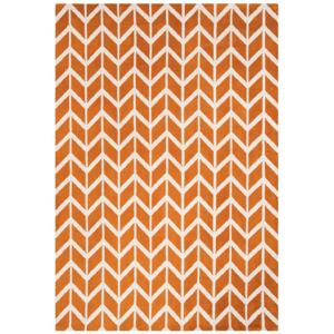Koberec ARLO Chevron 100x150cm Orange AR07