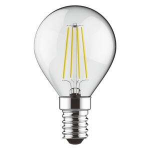 Diolamp Retro LED žiarovka Ball 5W/2700K/E14/440lm/Step Dim