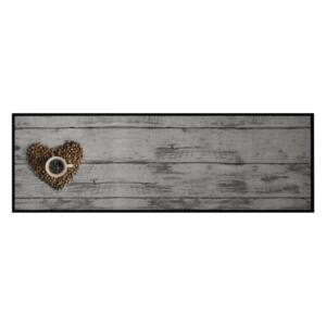 Zala Living - Hanse Home koberce behúň Cook & Clean 103812 Grey Brown - 50x150 cm