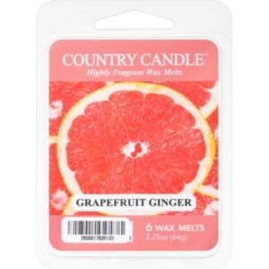 Country Candle Grapefruit Ginger vosk do aromalampy 64 g