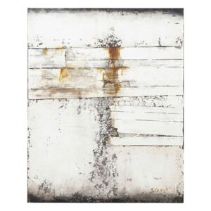 KARE DESIGN Olejomaľba Abstract Grey Line Two 150 × 120 cm