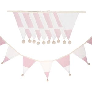 Girlanda Pink Stripes