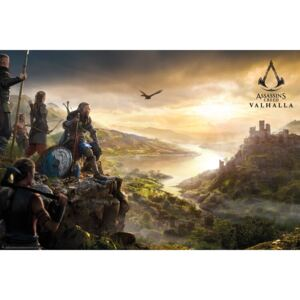 Plagát, Obraz - Assassin's Creed: Valhalla - Vista, (91 x 61,5 cm)