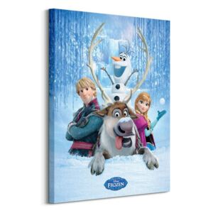 Obraz na plátne Disney Frozen (Snow Group) 60x80cm WDC99239