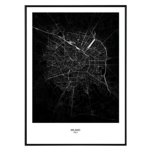 La forma Design studio Milano map 50x70 cm