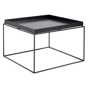 HAY Stolík Tray Table 60x60, black