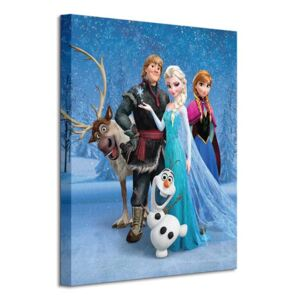 Obraz na plátne Disney Frozen (Group) 40x50cm WDC94591