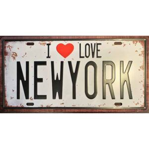Ceduľa I love New York