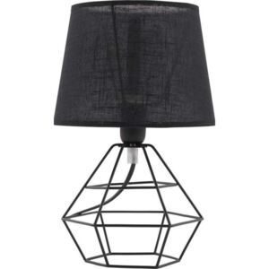 Stolná lampa DIAMOND BLACK 843