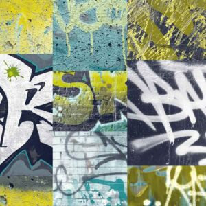 Arthouse Tapeta na stenu - Graffiti Graffiti Lime