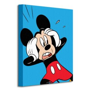 Obraz na plátne Disney Mickey Mouse (Shocked) 30x40cm WDC92286