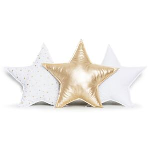 Set vankúšiky 3ks Star - Gold