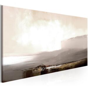 Obraz - Beginning of the End (1 Part) Brown Narrow 120x40