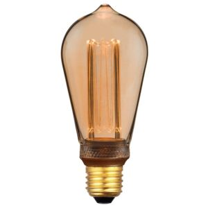 Žiarovka LED ST64-3,5W RETRO Gold E27 DIMM