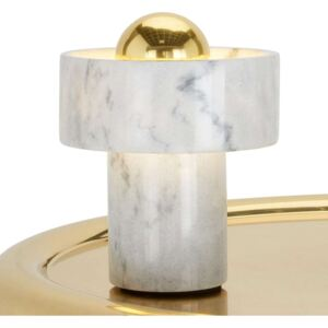 Tom Dixon Stone Table – stolná lampa z mramoru