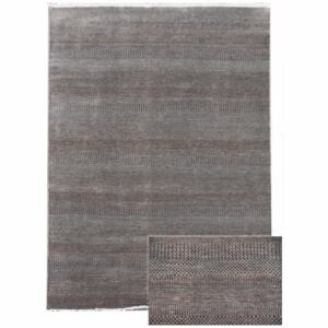 Diamond Carpets koberce ručne viazany kusový koberec Diamond DC-MCN Light grey/brown - 180x275 cm