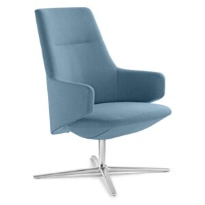 LD SEATING Kreslo MELODY LOUNGE L-BR-R F27-N6