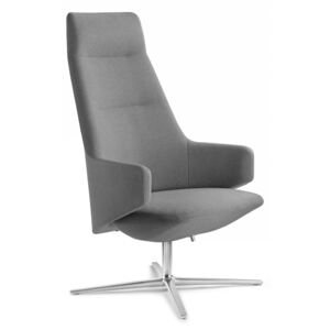LD SEATING Kreslo MELODY LOUNGE XL-BR-R F27-N6