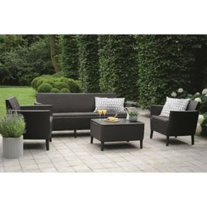 SALEMO 3 seater - grafit Allibert