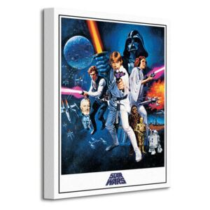 Obraz na plátne Star Wars Episode IV A New Hope (One Sheet) 30x40cm WDC92452