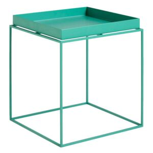 HAY Stolík Tray Table 40x40, peppermint green
