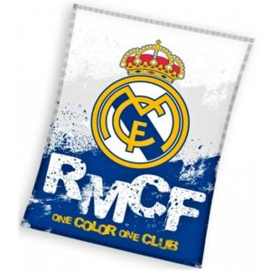 Carbotex · Deka coral fleece FC Real Madrid - RMCF - One color, one club - 130 x 160 cm