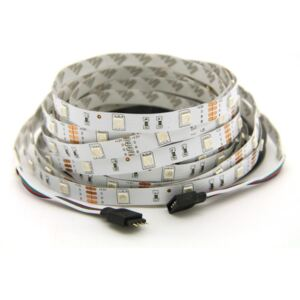RGB LED PÁS SMD5050 12V/DC 14,4W/m 60pcs/m IP20 (99LED676)