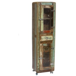 SIT MÖBEL Skriňa FRIDGE – 55 × 38 × 190 cm