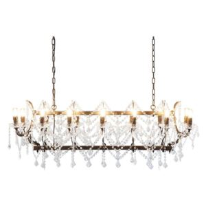 KARE DESIGN Luster Chateau Crystal Rusty