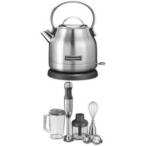 KITCHEN AID Set 5KEK1222ESX + 5KHB2571ESX, nerez