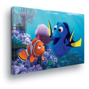 GLIX Obraz na plátne - Disney Looking for Nemo Figurines 25x35 cm