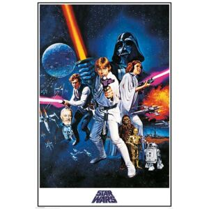 Plagát, Obraz - Star Wars A New Hope - One Sheet, (61 x 91,5 cm)