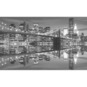 Fototapeta, Tapeta New York Brooklynský most, (104 x 70.5 cm)