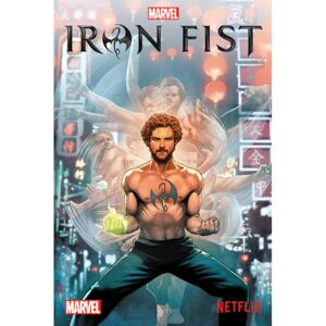 Plagát, Obraz - Iron Fist - Comic, (61 x 91,5 cm)
