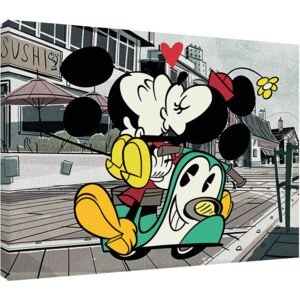Obraz na plátne Mickey Shorts - Mickey and Minnie, (80 x 60 cm)