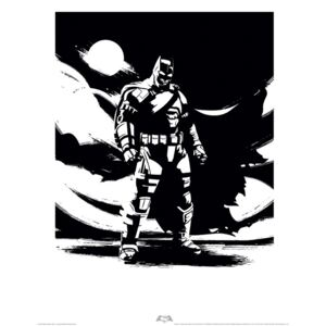 Reprodukcia, Obraz - Batman V Superman - Batman Noir, (40 x 50 cm)