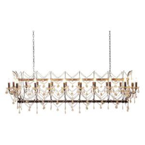 KARE DESIGN Luster Chateau Crystal Rusty Deluxe