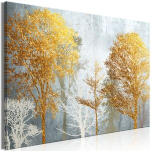 Obraz - Hoarfrost and Gold (1 Part) Wide 90x60