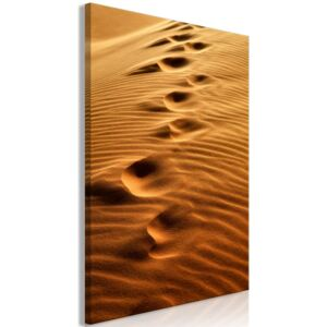 Obraz - Traces on the Sand (1 Part) Vertical 40x60