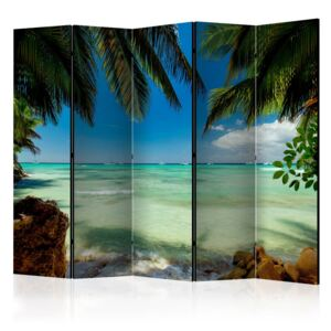 Paraván - Relaxing on the beach II [Room Dividers] 225x172
