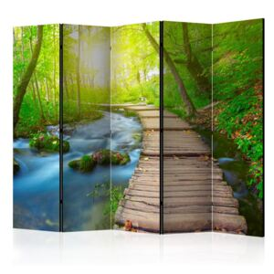 Paraván - Green forest II [Room Dividers] 225x172
