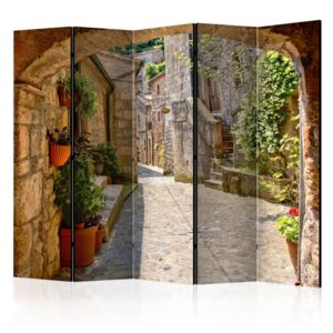 Paraván - Provincial alley in Tuscany II [Room Dividers] 225x172