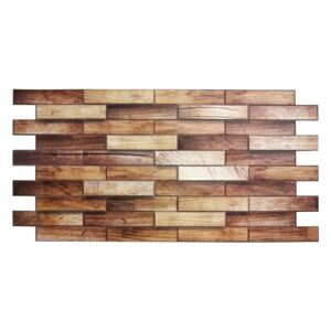 3D PVC obklad Walnut Panel (980 x 480 mm - 0,47 m2)