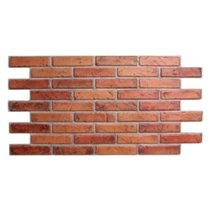 3D PVC obklad Natural Brick (970 x 500 mm - 0,49 m²)